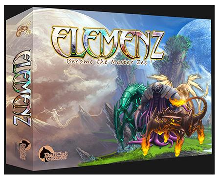 Elemenz boardgame KS edition box