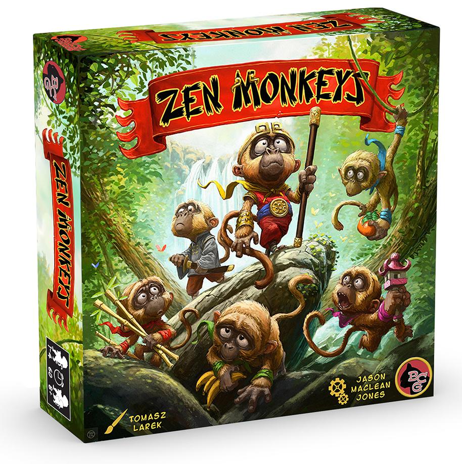 Zen Monkeys game box